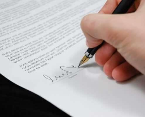 Como abrir uma ONG? - Assinatura do documento