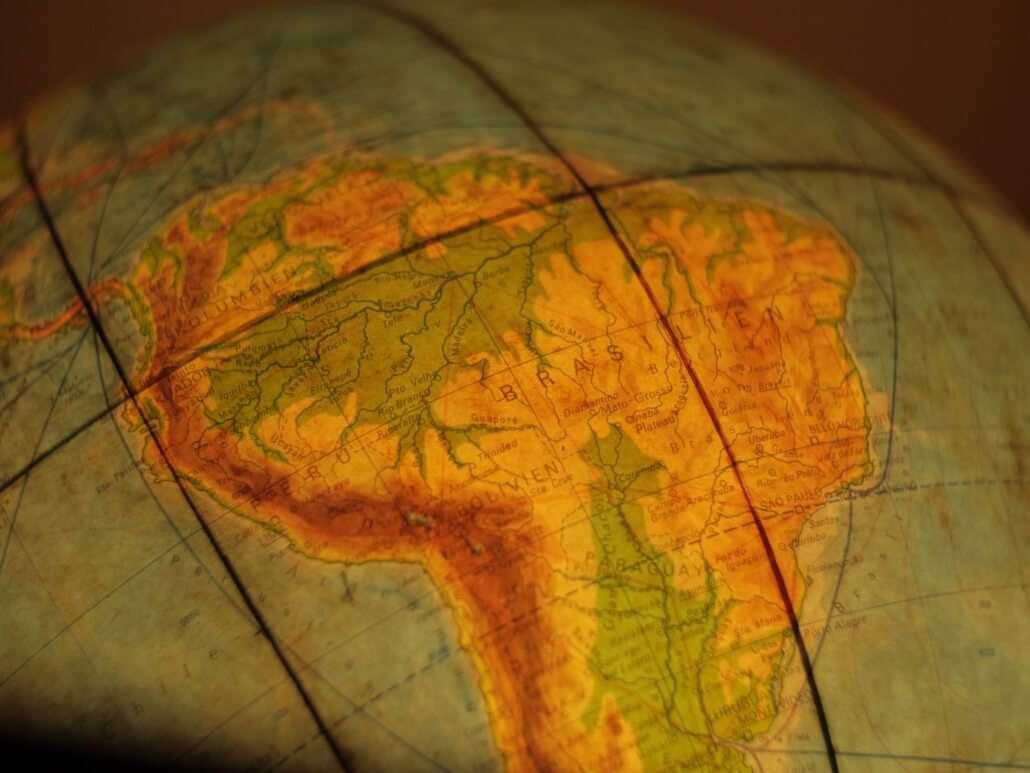 Captação com leis de incentivo - mapa brasil