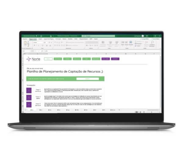 Planilha de Planejamento de Captação de Recursos para Ongs em Excel
